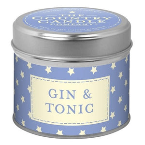 Gin & Tonic Candle Tin