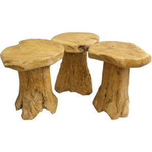 Root Wood Stool