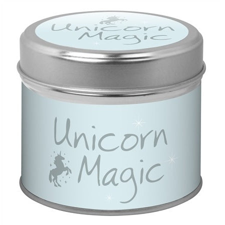 Unicorn Magic Candle Tin