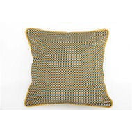 SALE!!  Yellow Geometric Cushion