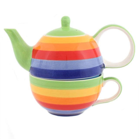 Rainbow Tea For One