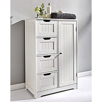 Coast to Coast Large Bathroom Storage Cabinet