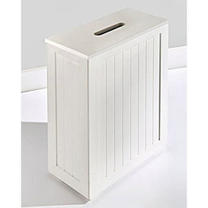 Coast to Coast White Bathroom Slimline Storage Cabinet