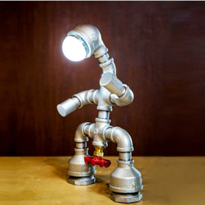 Vintage Industrial Lamp - Retro Water Pipe Lenny