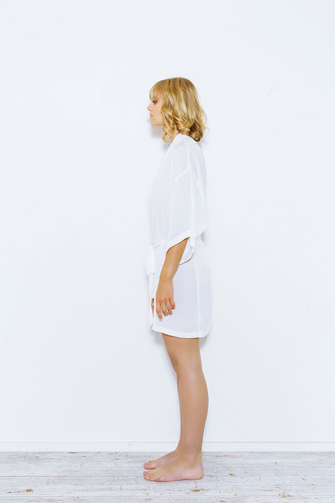 Short White Robe from Cathy Campbell Ltd a34feba15