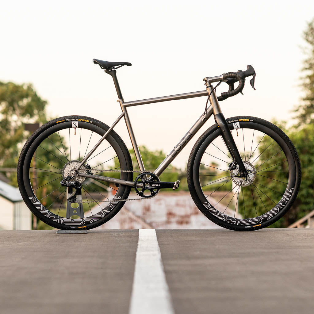 Grit - Titanium Gravel Bike