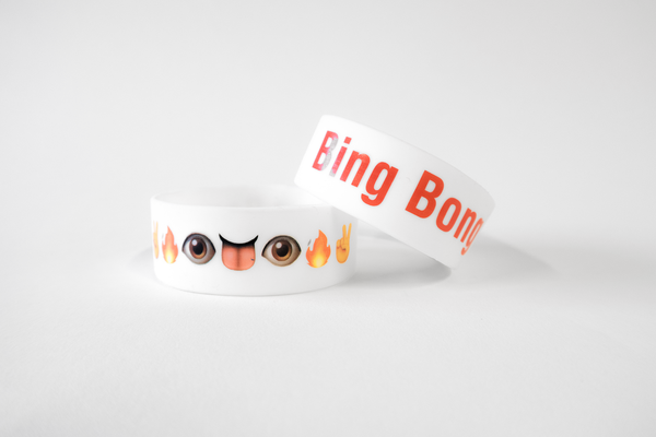 "Bing Bong Emoji Face 1"" Arm Band"