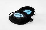 D.F.M.B. Blue Lips Face Mask