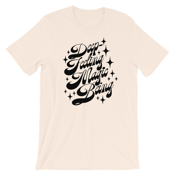 "Deep Feeling Magic Being ""Time Machine"" Tee"