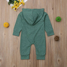 Load image into Gallery viewer, Army Green Romper - Eloise & Lolo