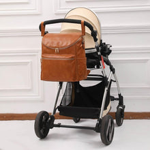 Load image into Gallery viewer, The Dylan Diaper Bag Backpack - Vegan Leather - Eloise & Lolo