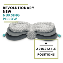 Load image into Gallery viewer, Jade Nursing Pillow - Eloise & Lolo