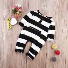 Load image into Gallery viewer, Striped Romper - Eloise & Lolo