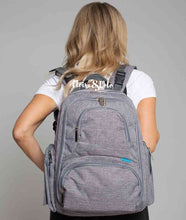 Load image into Gallery viewer, The Bailey Diaper Bag Backpack with USB Charging Port - Eloise & Lolo