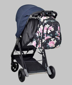The Bailey Diaper Bag Backpack with USB Charging Port - Eloise & Lolo
