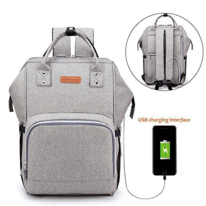 The City 2.0 Diaper Bag Backpack with USB Charging Port - Eloise & Lolo