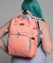 Load image into Gallery viewer, The City 2.0 Diaper Bag Backpack with USB Charging Port - Eloise & Lolo