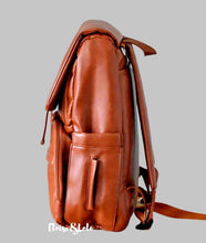 Load image into Gallery viewer, The Fiona Diaper Bag Backpack - Vegan Leather - Eloise & Lolo