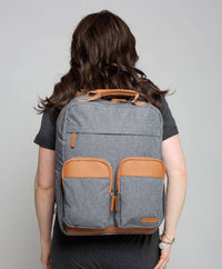 The Kelsey Diaper Bag Backpack - Eloise & Lolo