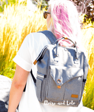 Load image into Gallery viewer, The London Diaper Bag Backpack - Eloise & Lolo