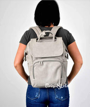Load image into Gallery viewer, The Rory Diaper Bag Backpack - Vegan Leather - Eloise & Lolo