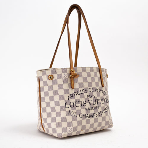 Damier Azur Cabas Adventure PM