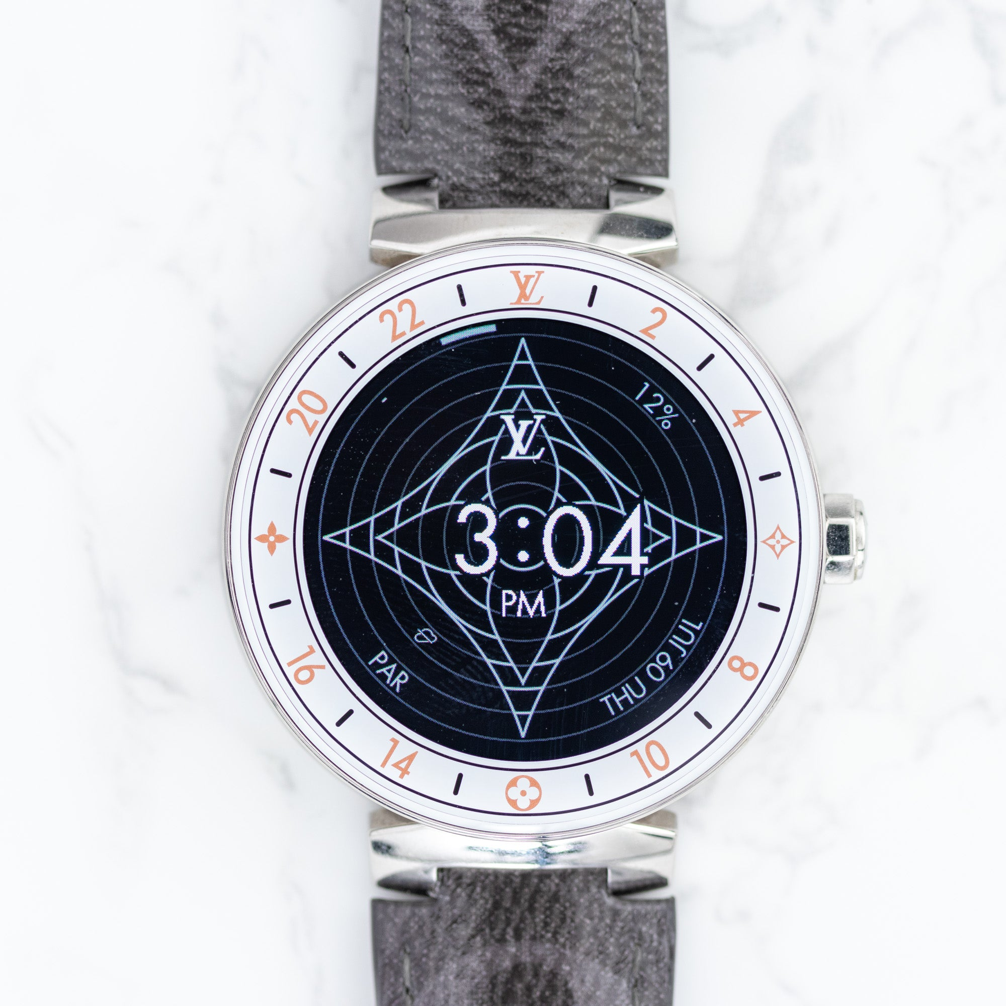 Connected Watch Tambour Horizon Monogram Eclipse Glaze