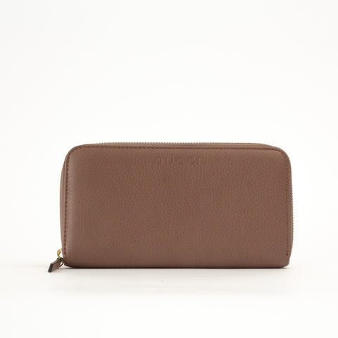 Timeless Patent Leather Continental Zipper Wallet