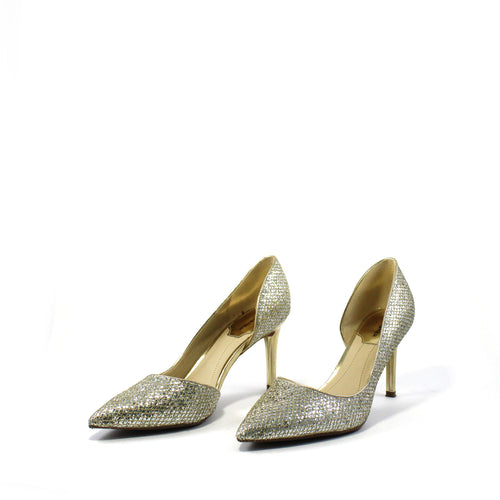 Gold Sparkle Pumps