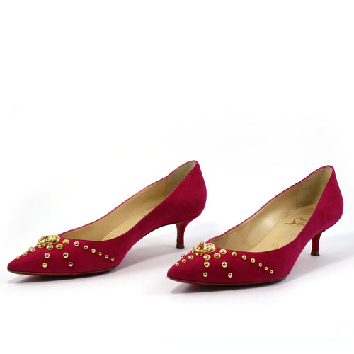 Door Knock Studded Pumps