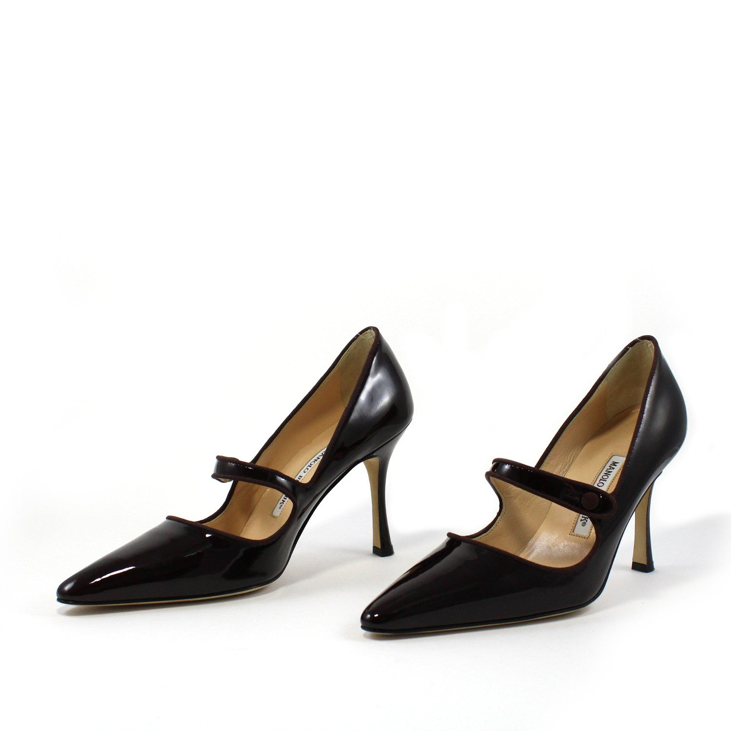 Campari Patent Leather Mary Jane Pumps