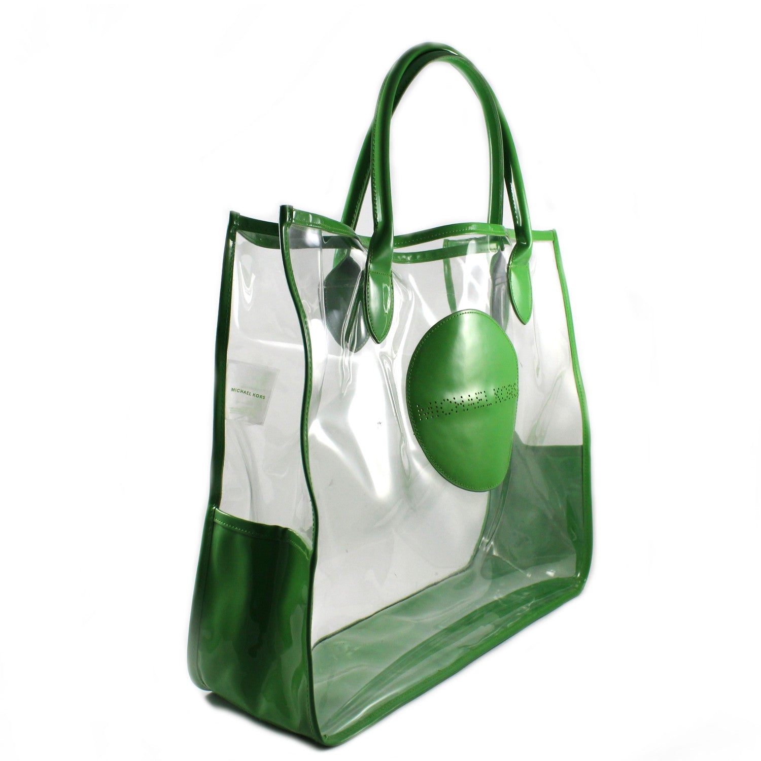 Clear Vinyl Tote Bag
