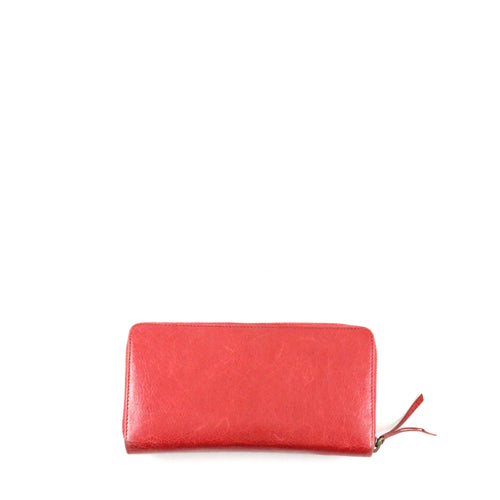 Red Motocross Continental Classic Wallet