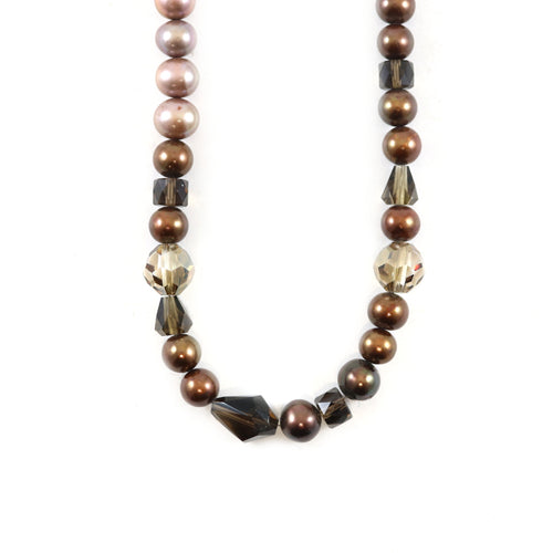 Copper Pearl Necklace
