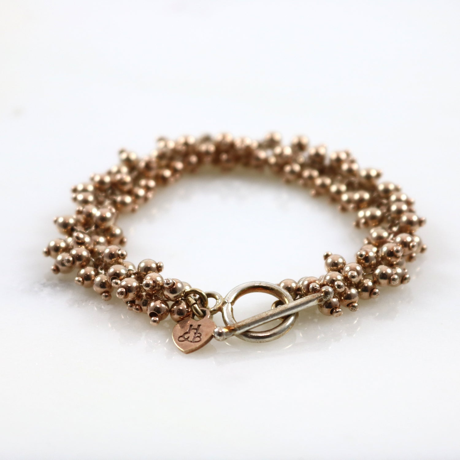 Rose Gold Ball Beads Bracelet