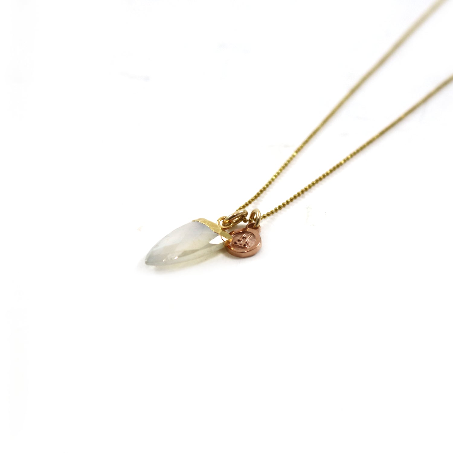 Foggy Crystal Necklace