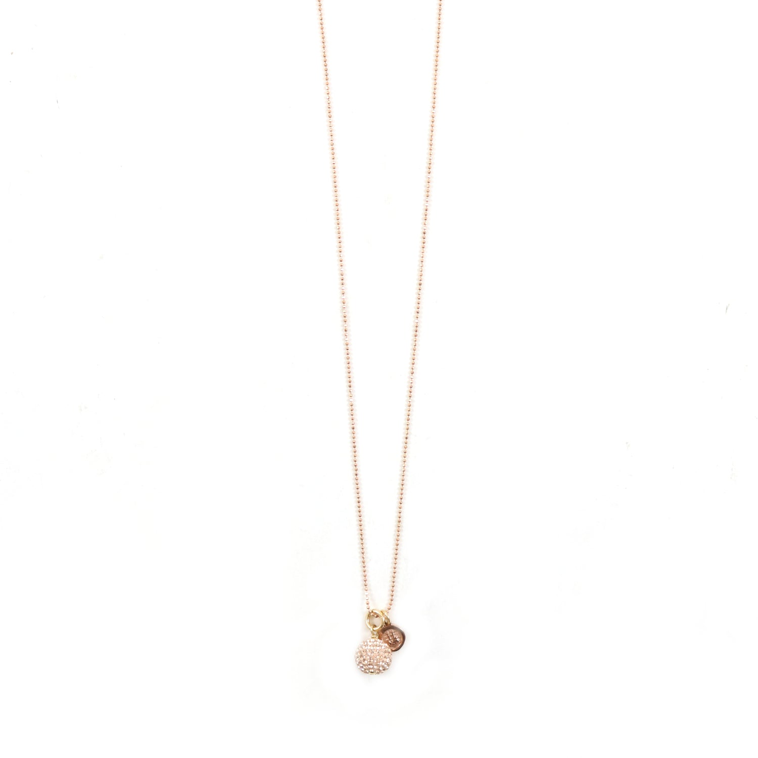 Rose Gold H&B Earrings & Necklace Set
