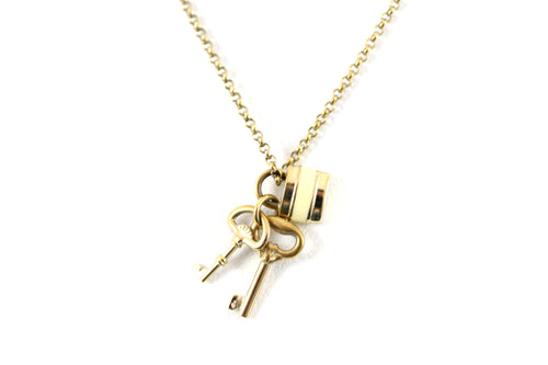 Classic Padlock Necklace