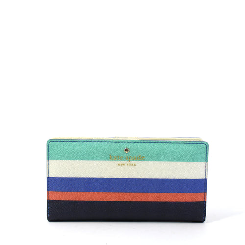 Cedar Street Striped Stacy Wallet