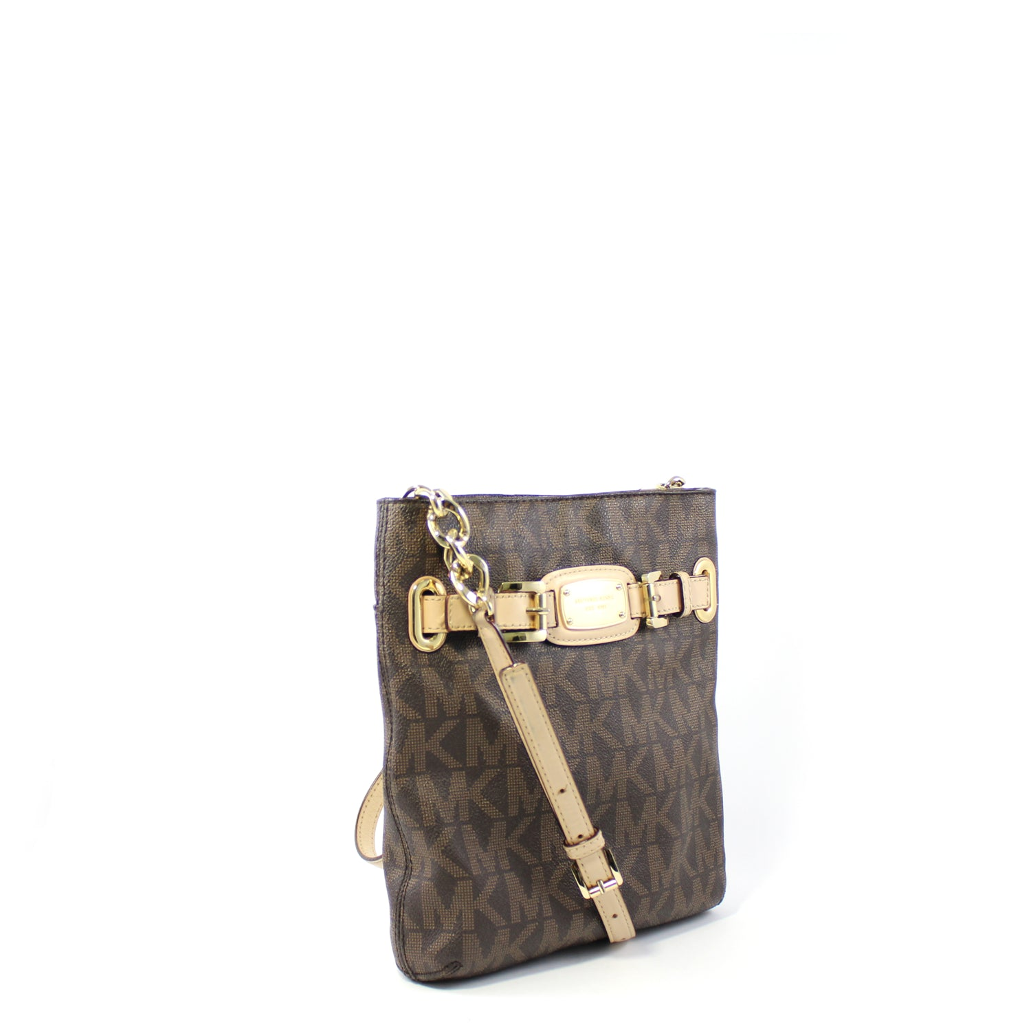 Signature Flat Crossbody