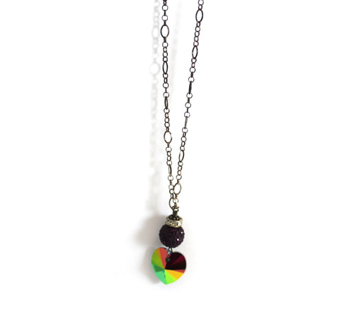 Sparkle Ball Lariat Necklace