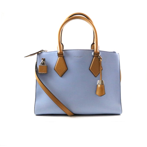 Pale Blue Satchel