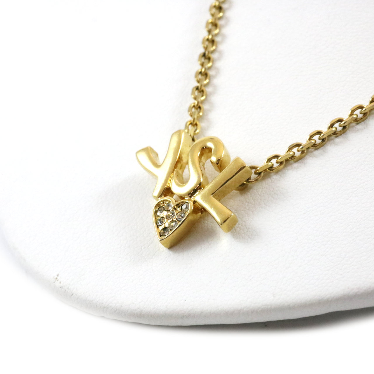 YSL Heart Necklace