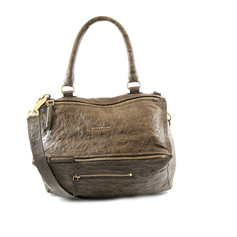 Calfskin Bamboo Top Handle Bag