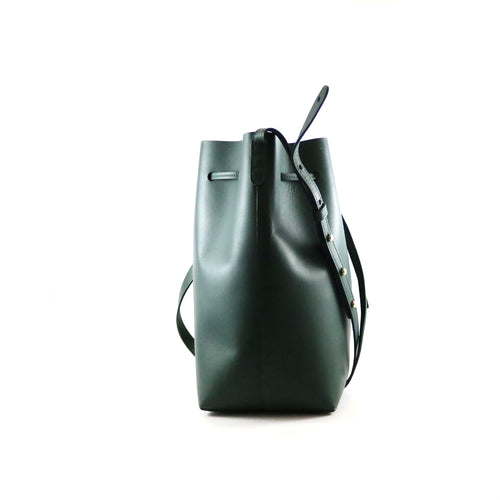 Vegetable Tanned Calfskin Bucket Bag