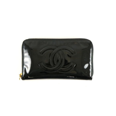 Glossy Black Wallet