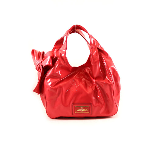 Patent Nuage Hobo Bag