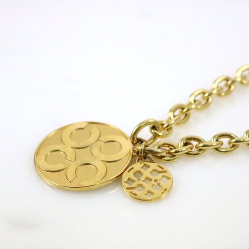 Large Pendant Matinee Necklace