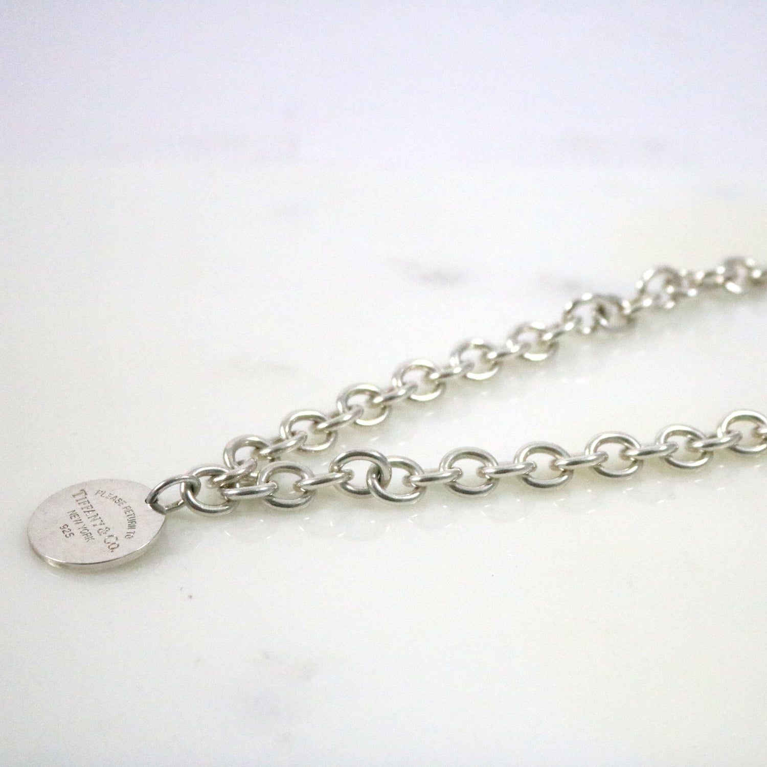 Round Tag Necklace