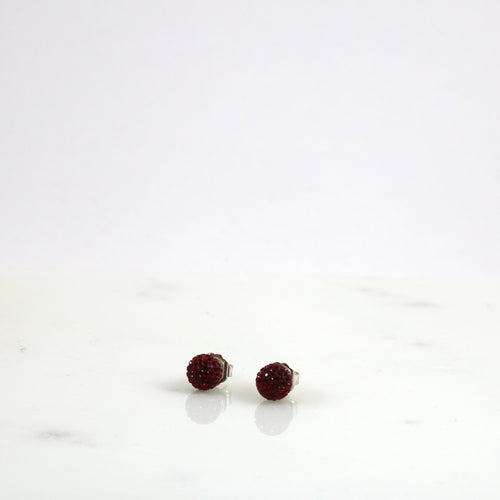 10mm Rose Stud Earrings